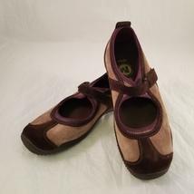 Merrell OrthoLite Womens Size 6.5 Purple Brown Circuit MJ Pigskin Air Cushion - $27.00