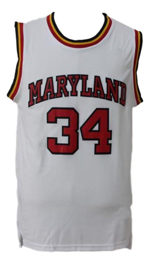 Len bias  34 college basketball  jersey white   1