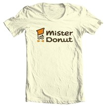 Mister Donut T-shirt retro vintage 1970s 1980s diner 100% cotton graphic tee image 2