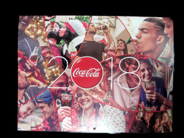 Coca-Cola 2018 Calendar And Planner Bundle - Free Shipping - $15.59