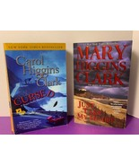Lot of 2 Mystery Crime Carol Mary Higgins Clark CURSED & JUST TAKE MY HEART - $9.89