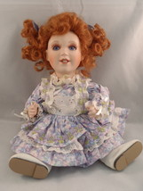 FRANKLIN MINT HEIRLOOM TINY TOT DOLL COLLECTION MARYSE NICOLE RED HAIR P... - $25.99