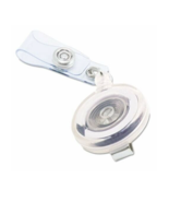 """NEW Advantus Translucent Clear ID Badge Card Reel 34"""" Extension 12 Pack ... - $28.40"""