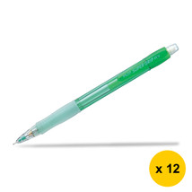Pilot Super Grip Neon H-185N 0.5mm Mechanical Pencil (12pcs), Green, H-1... - $28.99