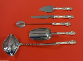 Violet by Wallace Sterling Silver Cocktail Party Bar Serving Set 5pc Custom Made - $335.61