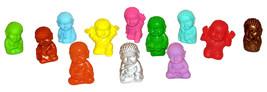 Pocket Buddha Buddhism Min Figure Figurine Toy Series 1 & 2, Set of 12 - $44.99