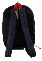 Official Salvador Aztec School Gym Bag Denim Backpack F15-3002 NWT image 4