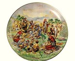 6738a manna from heaven collectors plate promised land vintage christian religious thumb155 crop