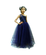 Lovely Party Wear Tulle Gown for Girls - $50.99+