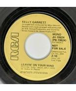 Kelly Garrett – Leavin' On Your Mind 45 rpm PROMO RCA Records Soul Vinyl... - $5.94