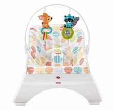 Baby Rocker Calming Vibrating Chair Bouncer Fisher Price Comfort Curve  - $60.38