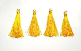 Tassels Silky Jewelry Tassels Earrings Silk Tassels Silk Tassles Pompon ... - $3.20