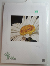 THEA GOUVERNEUR CROSS STITCH KIT - 490 Marguerite Flower Embroidery Spring - $38.99