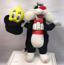 Sylvester Cat and & Tweety Bird Magic Magician Plush Doll Looney Tunes 9... - $10.39