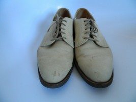 Vintage Cole Haan G2 Mens Tan\Beige Leather Oxford Shoes Made In USA Size 10.5D - $36.99