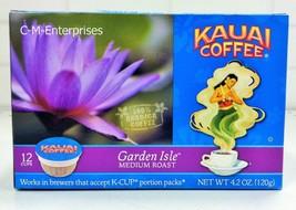 Kauai Coffee Garden Aisle Medium Roast K Cups Keurig 12 ct  K Cup 4.2 oz - $10.34