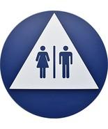 Hillman 844607 Unisex Restroom Symbol California Title 24 ADA Compliant ... - $16.42