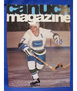 NHL Vancouver Canucks Hockey Magazine Vintage Collector November 1974 So... - $9.95