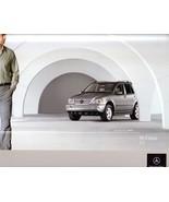 2005 Mercedes-Benz M-CLASS brochure catalog ML 350 500 - $10.00