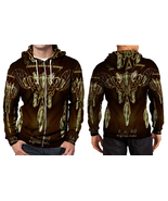 Victorian jewelry set Zipper Hoodie Men's - $48.99+