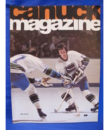 NHL Vancouver Canucks Hockey Magazine Vintage Collector December 1974 So... - $9.95