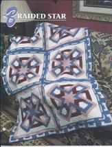 Braided Star Afghan Crochet Pattern~RARE - $24.99