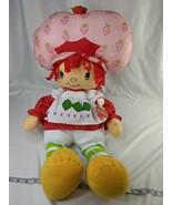 """Strawberry Shortcake Cuddle Pillow Doll 27"""" Plush Betesh Group Stuffed Toy - $59.95"""