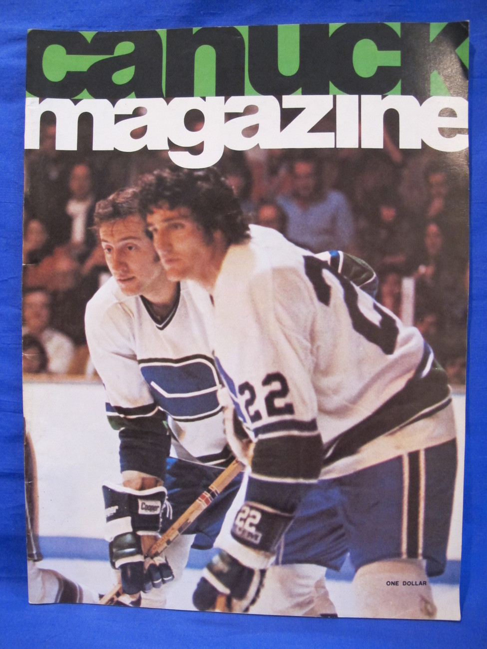 buy online 9800d 3f8a5 NHL Vancouver Canucks Hockey Magazine and 23 similar items