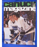 NHL Vancouver Canucks Hockey Magazine Vintage Collector January 1 1975 S... - $9.95