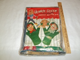 Vintage Howdy Doody and Clarabell mitten puppet... - $10.00