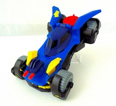 Fisher-Price Imaginext DC Super Friends Batmobile And Figure New/Details... - $8.63