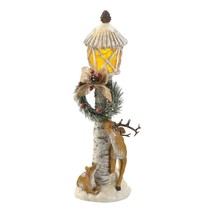 Light Post Reindeer Figurine  - £23.50 GBP
