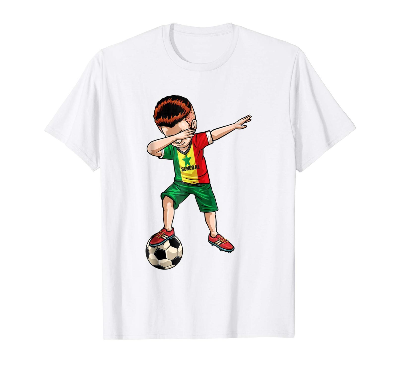 e5701502b Brother Shirts - Dabbing Soccer Boy Senegal Jersey Shirt - Football Tee Gift  Men