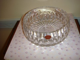 "Gorham Crystal 8"" Bowl Althea Style C164 - $20.99"