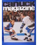 NHL Vancouver Canucks Hockey Magazine Vintage Collector January 26 1975 ... - $9.95