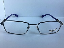 New Persol 2444-V Silver Purple 53mm Rx Rectangular Men's Eyeglasses Frame  - $129.99