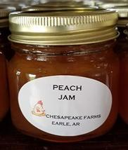 Peach Jam 4 Oz Size Arkansas Grown And Made Organic Great Gift Idea! - $3.00
