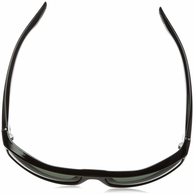 5ab60092cc Spy Optic Cooper 670195973864 Polarized Rectangular Sunglasses Soft Matte  Black