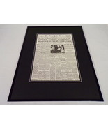 New York Times Aug 15 1945 Framed 16x20 Front Page Poster End of WWII Japan - $74.44