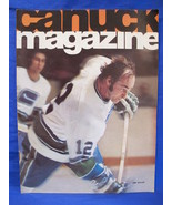 Vintage NHL Vancouver Canucks Hockey Magazine Collector February 15 1975 - $9.95