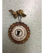 Shellly MN minnesota pinback pin Diamond Jubilee july 1979 Vintage  - $14.99