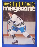 Vintage NHL Vancouver Canucks Hockey Magazine Vintage Collector February... - $9.95