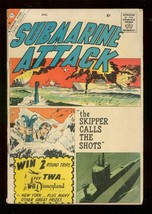 Submarine Attack #21 1960-CHARLTON War COMICS-GLANZMAN G - $25.22