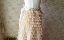 RHINESTONE Sash Belt Wedding Accessories Rhinestone Bridal Bridesmaid Sash NWT image 3