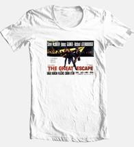 The Great Escape T-shirt Steve McQueen vintage 70s movie 100% cotton tee image 2