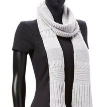 Ugg Scarf Cable Knit Rectangular NEW - $65.00