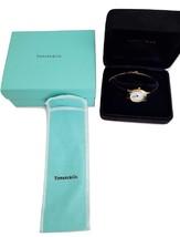 *  Tiffany & Co Portfolio Watch Elegant Delicate Classic Black leather - $350.00