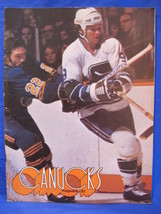 NHL Vancouver Canucks Hockey Magazine Vintage Collector February 3 1976 ... - $9.95