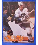 NHL Vancouver Canucks Hockey Magazine Vintage Collector February 3 1976 ... - $9.95