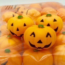 Halloween Pumpkin Mini Stress Relaxable Balls Toy Party Favor - 24 quantity - $22.76